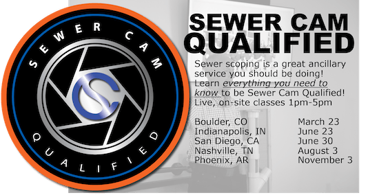 Sewer Cam Qualified Classes